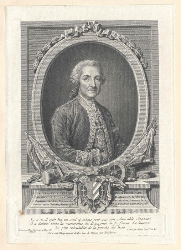 Abarca de Bolea, Conde de Aranda, Pedro Pablo