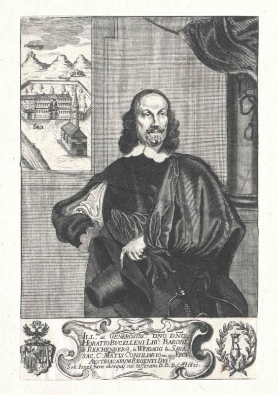 Buccelleni, Freiherr von Reichenberg, Horatius