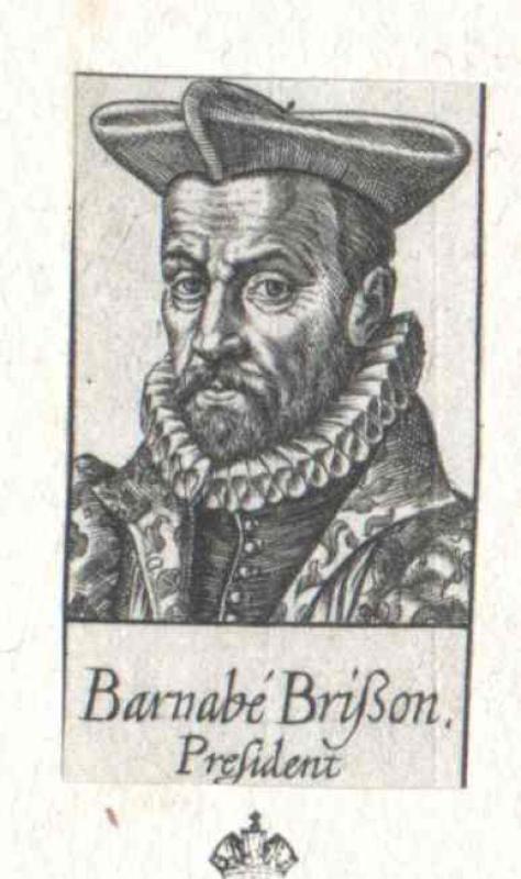 Brisson, Barnabé