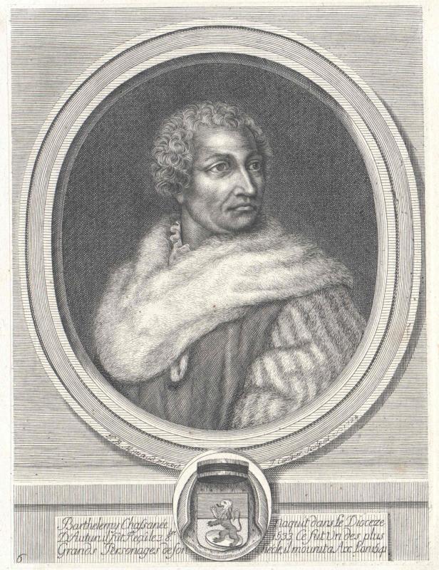 Chasseneuz, Barthélemy