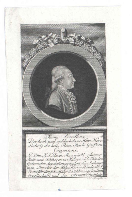 Cavriani, Ludwig Franz Xaver Graf