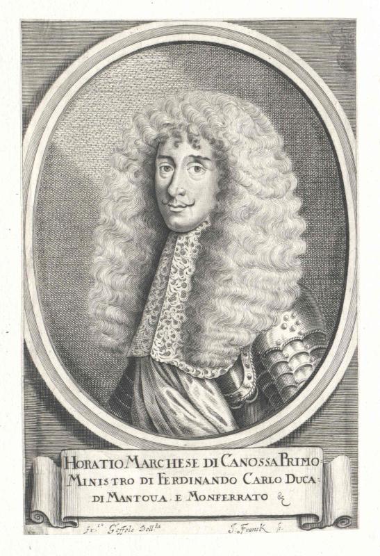 Canossa, Oratio marchese di