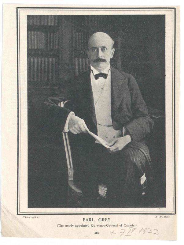 Grey, 4. Earl Grey, Albert (Henry George)