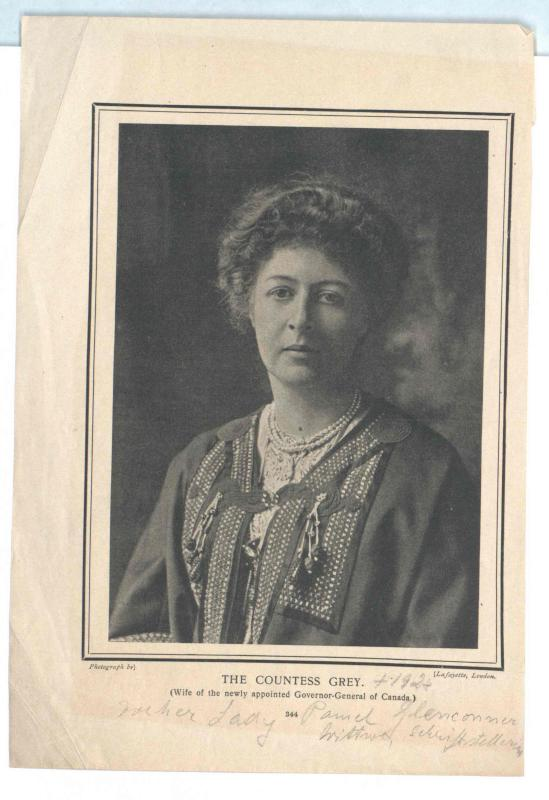 Holford, Countess Grey, Alice