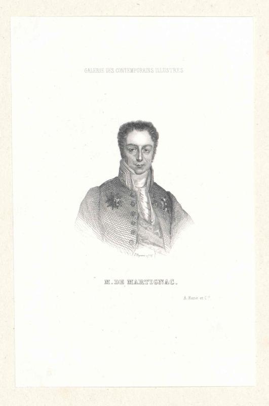 Gaye, Vicomte de Martignac, Jean Baptiste Sylvére