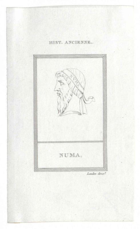 Numa Pompilius, König von Rom