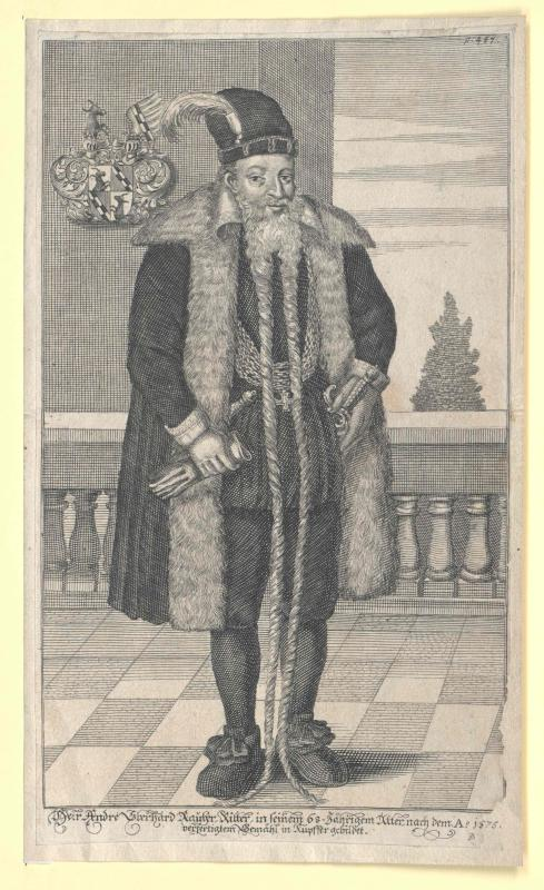 Rauber-Blankenstein, Andreas Eberhard Freiherr von