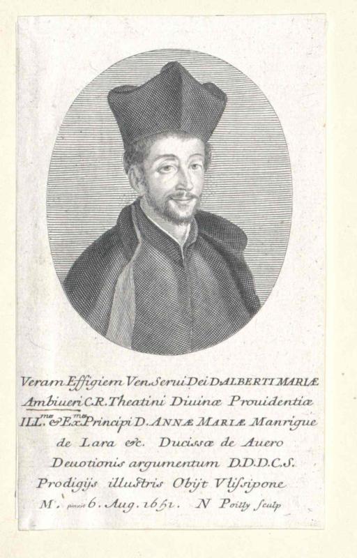 Ambiveri, Alberto Maria