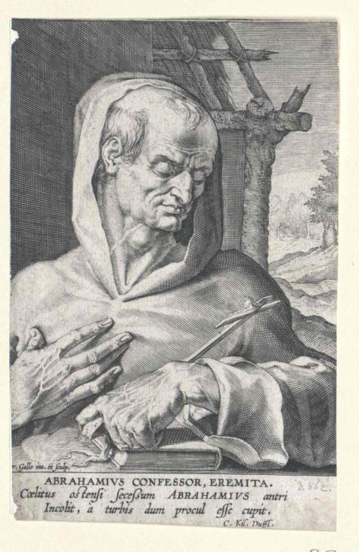 Abraham von Kiduna, Heiliger