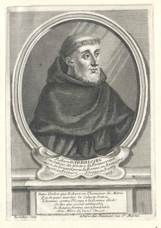 Arbrissel, Robert d'