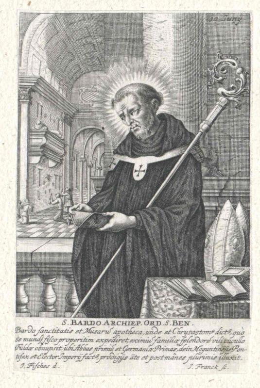 Bardo von Mainz, Heiliger