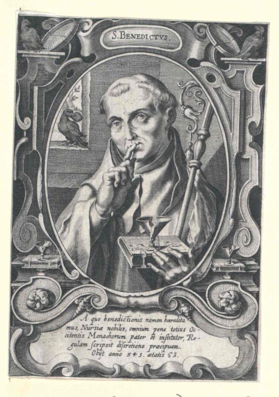 Benedikt von Nursia, Heiliger