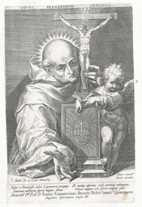 Bernhardin von Siena, Heiliger