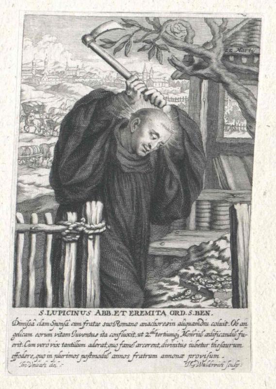 Lupicinus von Condat, Heiliger