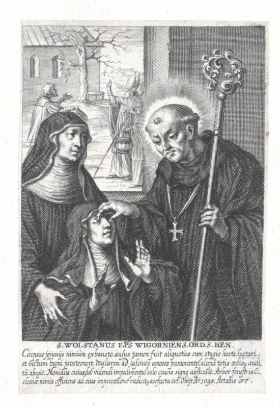 Wulfstan II., Bischof von Worchester, Heiliger