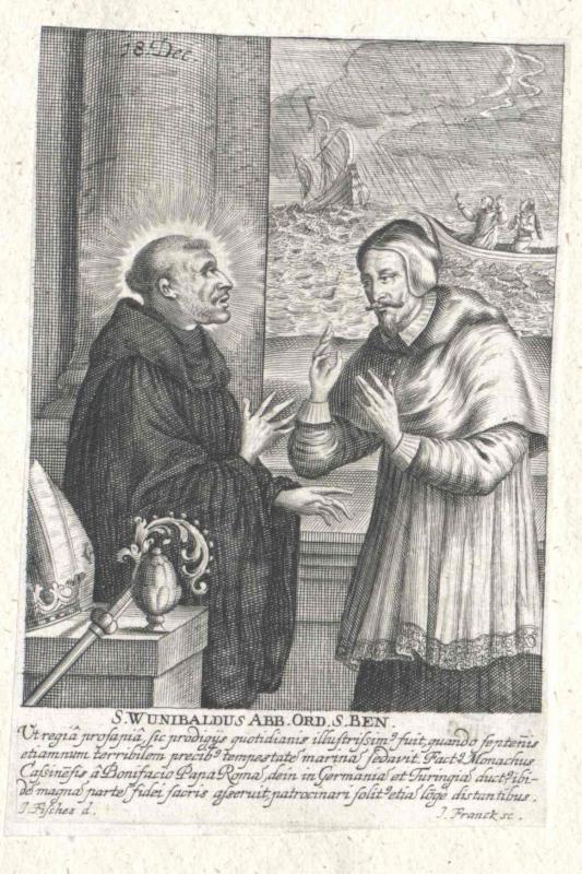 Wunibald, Heiliger