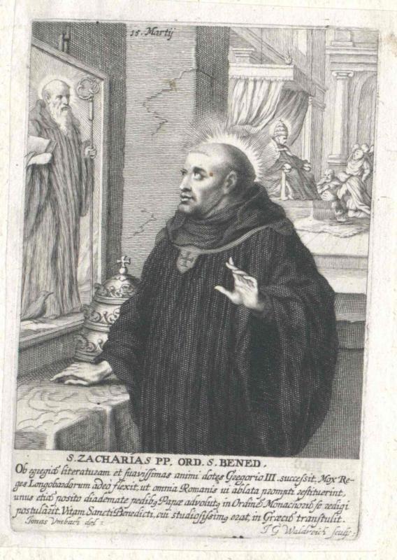 Zacharias, papa