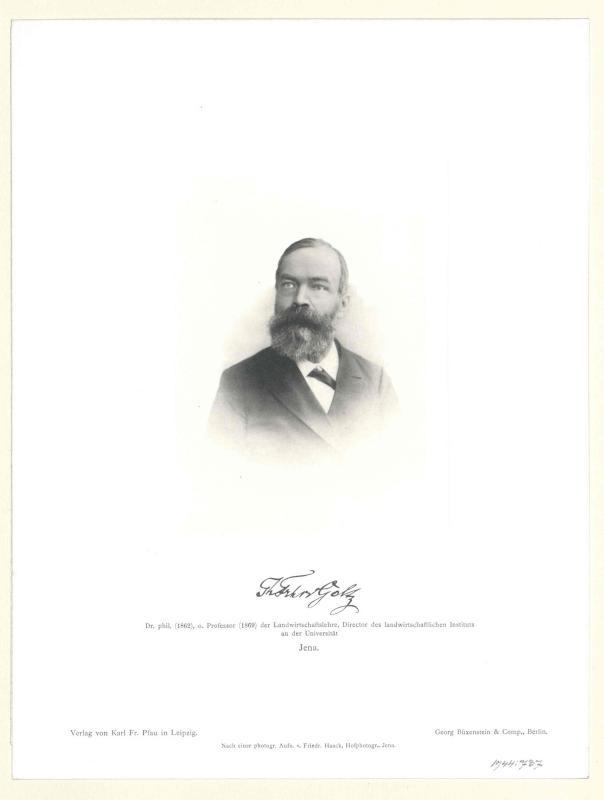 Goltz, Theodor Freiherr von der