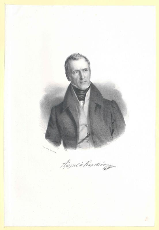 Appel-Kapotsány, Karl von