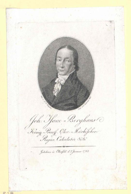 Berghaus, Johann Isaak