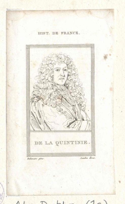 La Quintinie, Jean de
