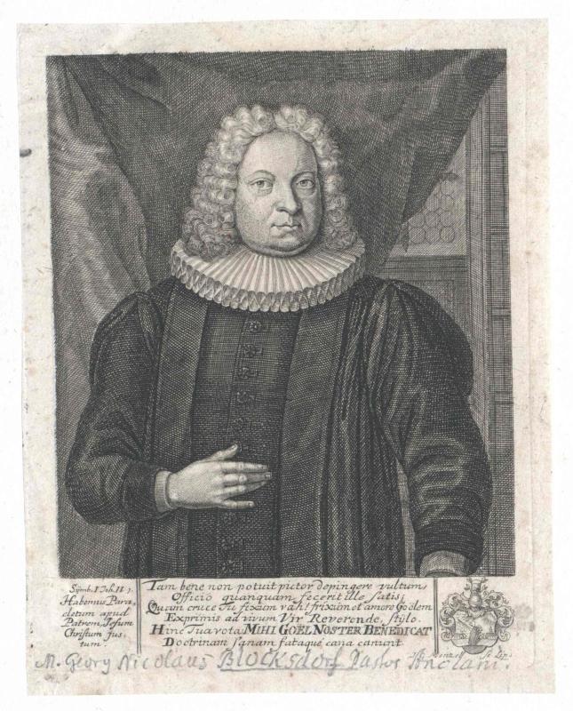 Blocksdorf, Georg Nikolaus