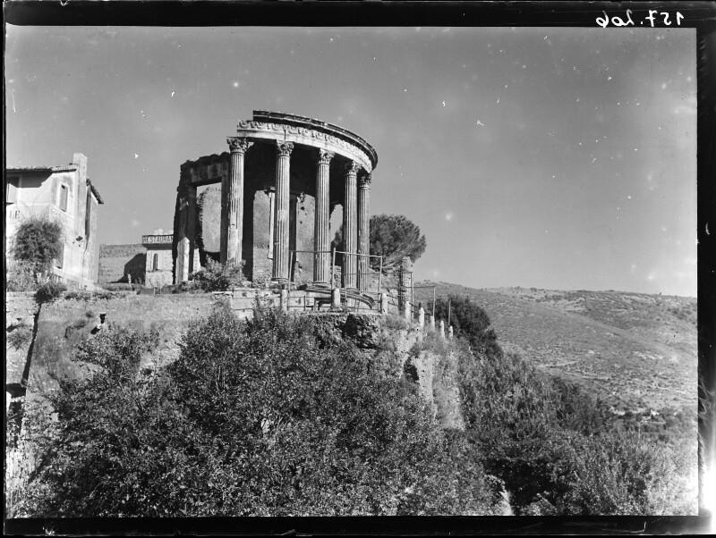 Sibyllentempel in Tivoli, Italien