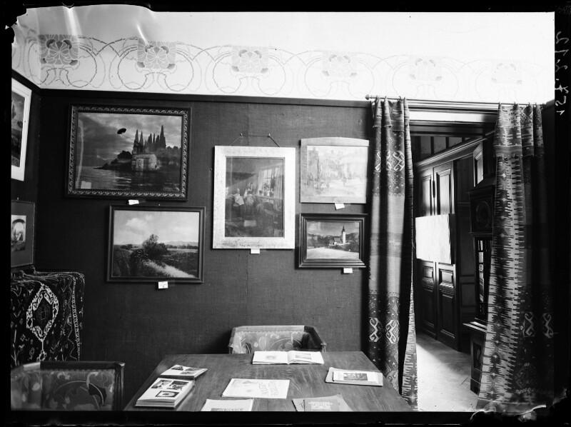Ausstellung des Wiener Photo Clubs, Anfang 20.Jahrhundert