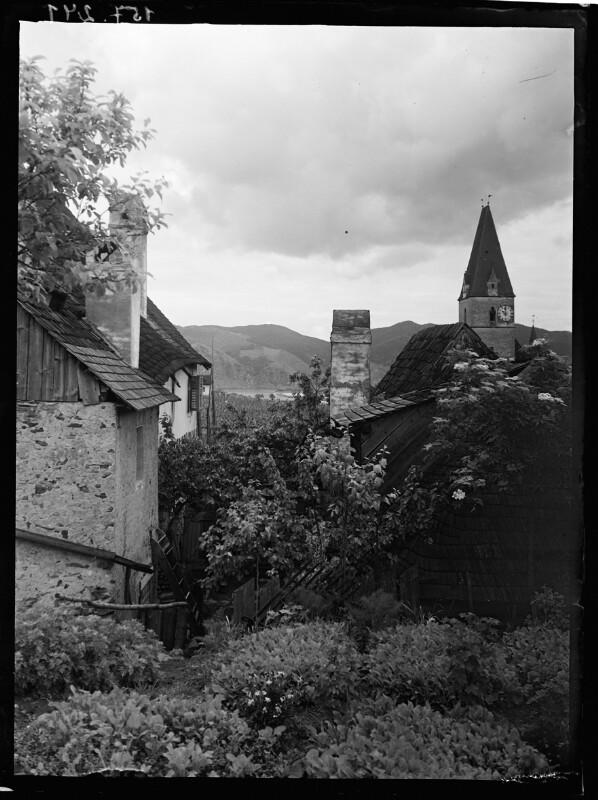 Dächer und Gärten in Weissenkirchen