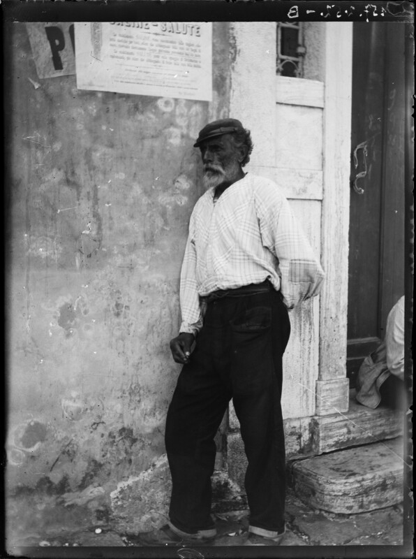 Mann aus Chioggia, Italien