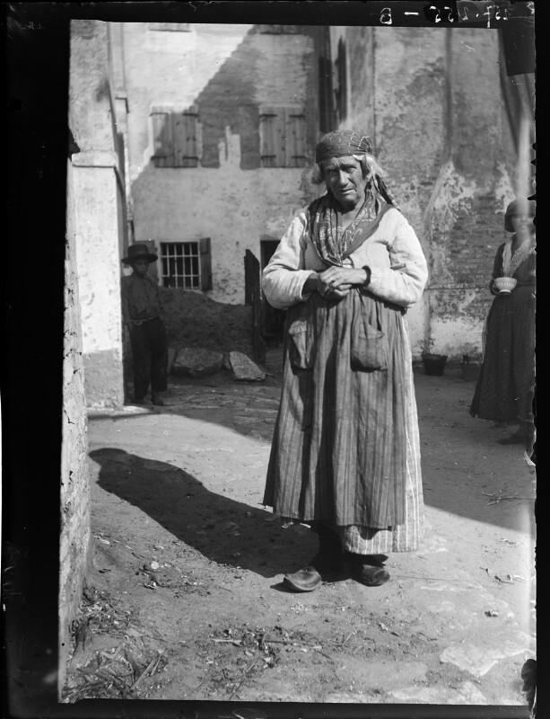Frau aus Chioggia, Italien