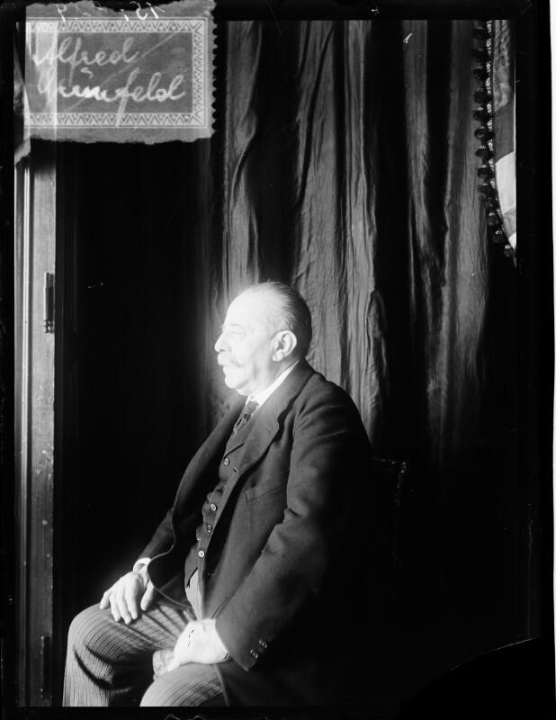 Bildnis Alfred Grünfeld