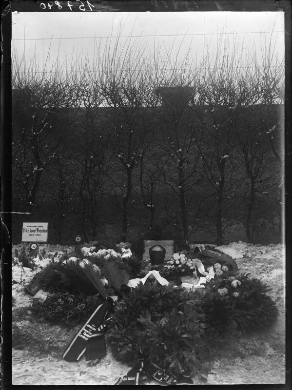 Grab von Theodor Leschetizky