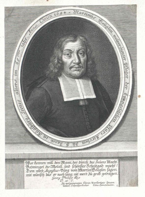 Heuglin, Martin