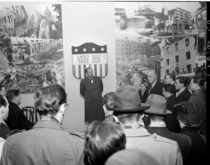 Pressekonferenz des E.C.A.-Büros im Wiener Messepalast ...