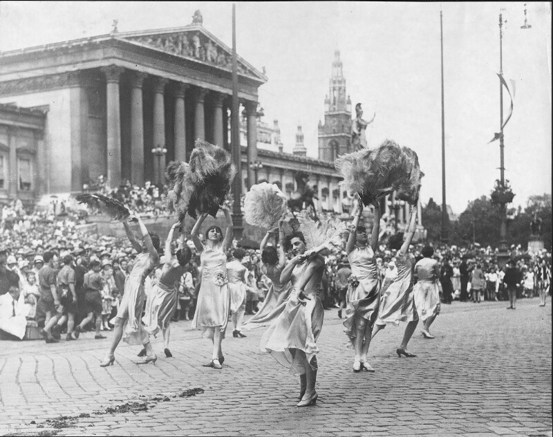 Gewerbefestzug 1929