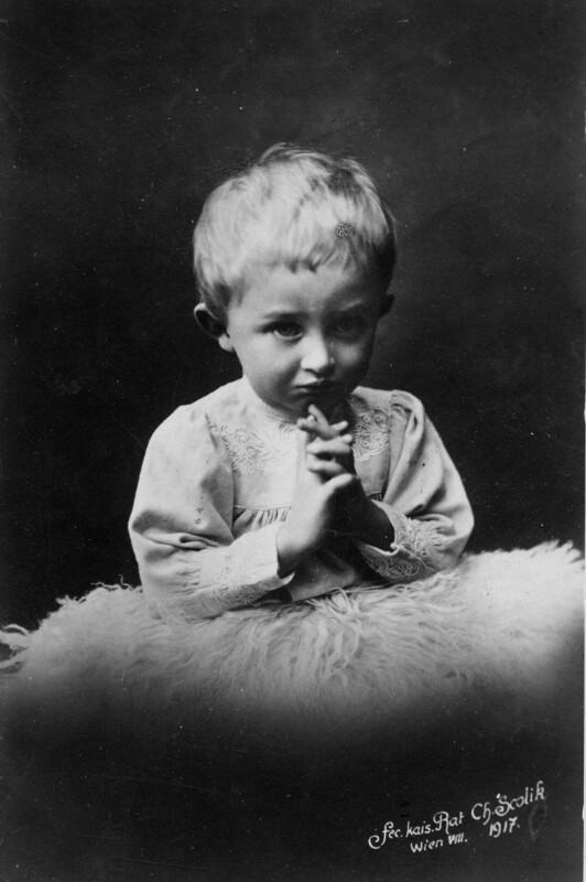 Kinderbildnis Kaiser Karl I.