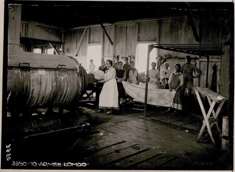 Dampfwäscherei in Kolomea, Waschraum II