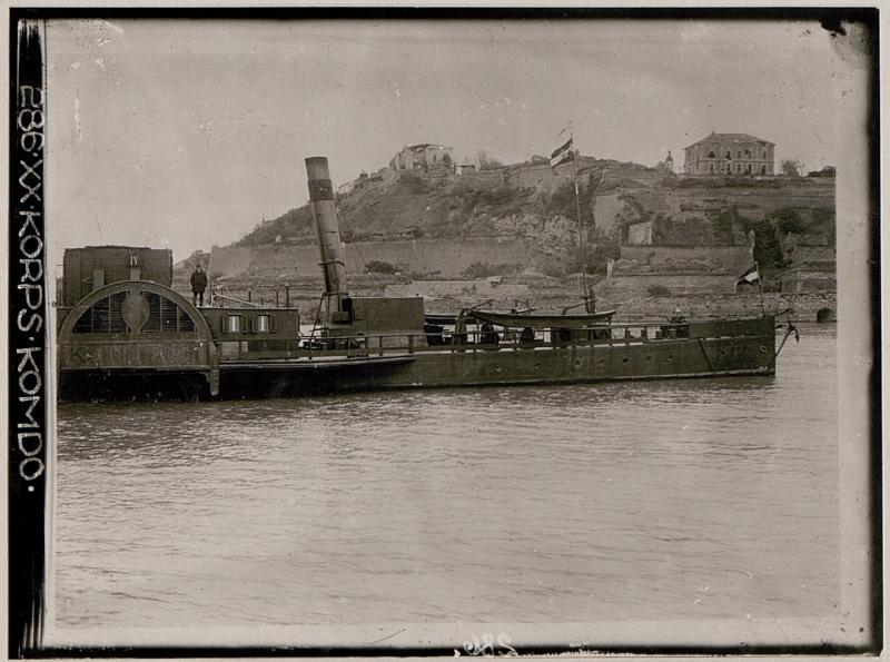 Belgrad, Kalimegdan unmittelbar nach der Einnahme
