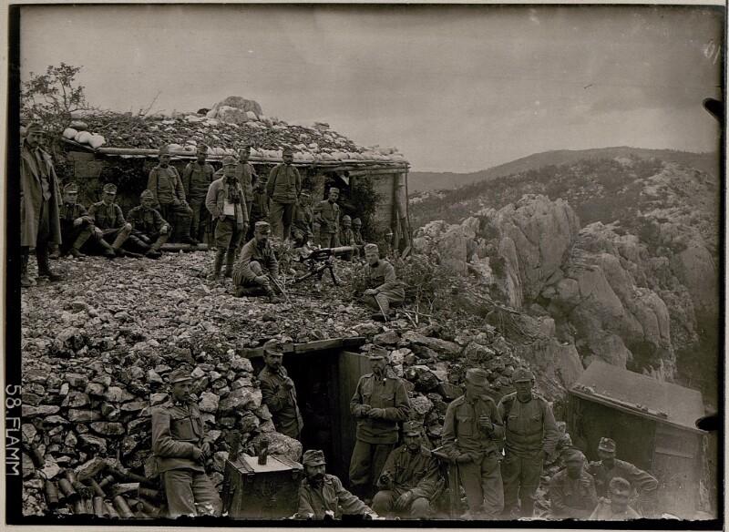 Beobachter am Monte Sabotino