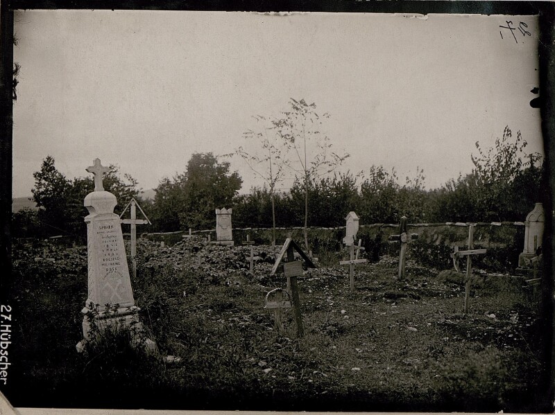Friedhof in Oppacchiasella.