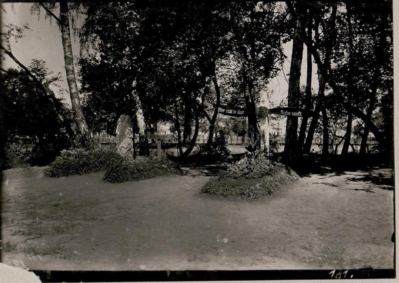 Heldenfriedhof im Stadtpark zu Stryj.