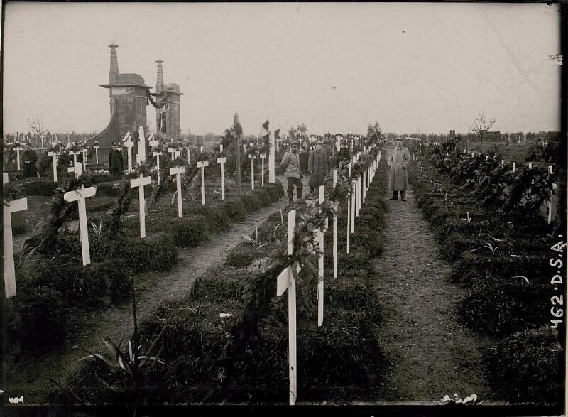 Heldenfriedhof in Stryj.