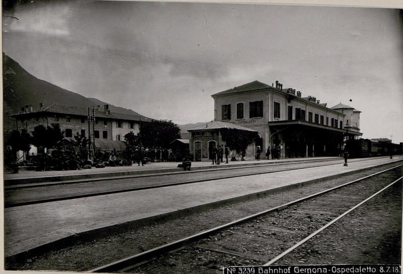 Bahnhof Gemona-Ospedaletto.