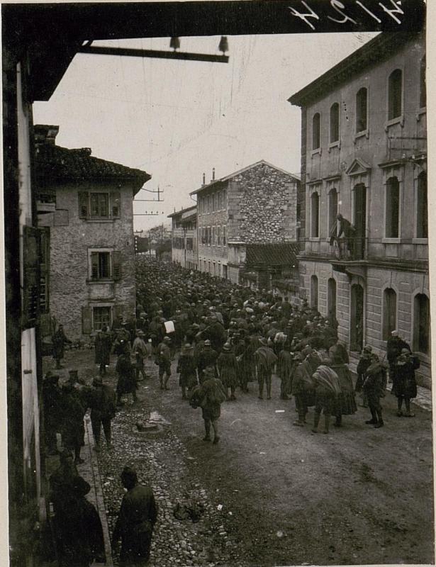 Gefangene Italiener in Tolmezzo