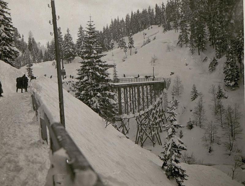 Brücke im Gadertal unweit  Pedratsches
