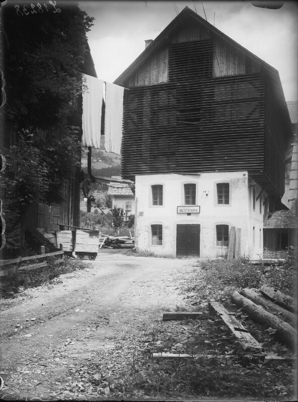 Holzstofffabrik in Dellach