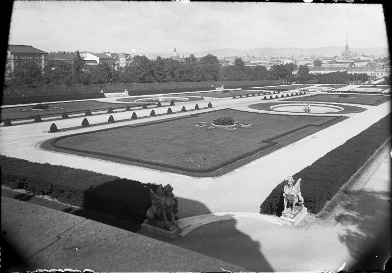 Wien 3, Belvedere Park