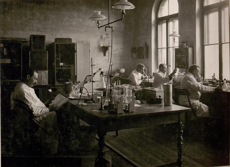 Bakteriologisches Laboratorium und Lebensmittel-Untersuchungsstelle.