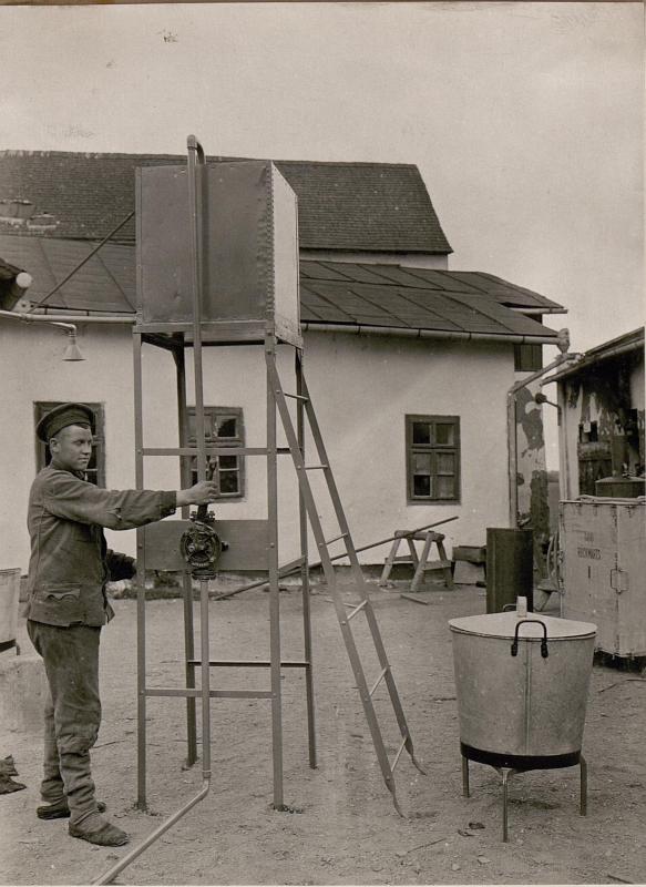 Bädertype nach Ing.Ltn.Rosenthal für 60 Mann.